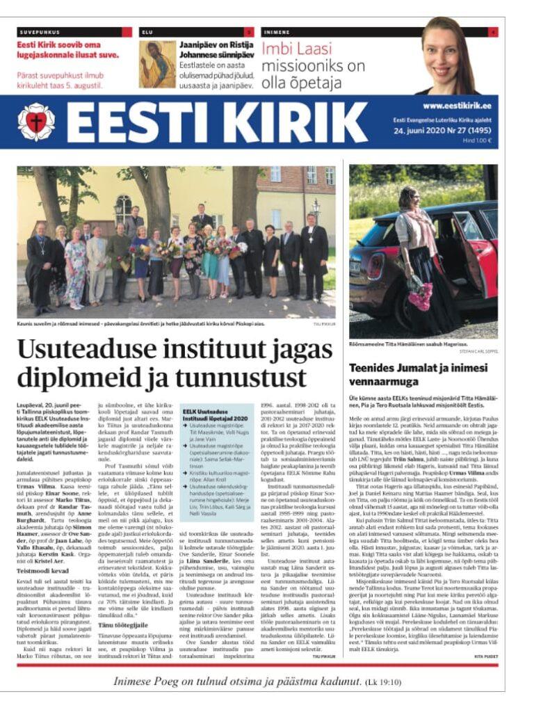 Eesti Kirik 24.06.2020