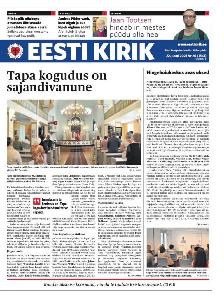 Eesti Kirik 22.06.2021